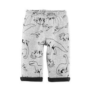 NWT Carter's Dinosaur Print Gray Pants Size 24mo